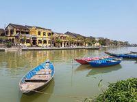 Vietnam en Cambodja Hoi Ann rivier stad Djoser