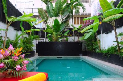 Claremont Angkor Boutique Hotel Pool Vietnam en Cambodja rondreis Djoser