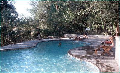 Zuid-afrika djoser zwembad accommodatie