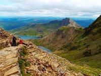 Snowdonia Nationaal Park Berg Meren Wales Wandel