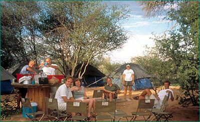 Afrika kamperen Djoser