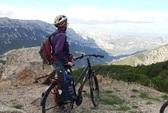 Fietsreis Sardinie Italie uitzicht fiets