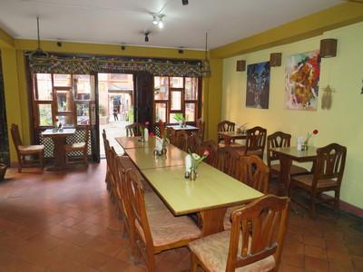 Nepal Bhaktapur Hotel Restaurant hotel accommodatie overnachting Djoser