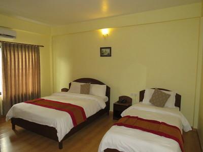 Pokhara Crown Himalayas Kamer hotel accommodatie Djoser