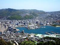 Nagasaki stad uitzicht Japan Djoser