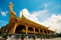 Dai Nam Pagode Saigon Vietnam