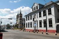 Paramaribo straat Suriname