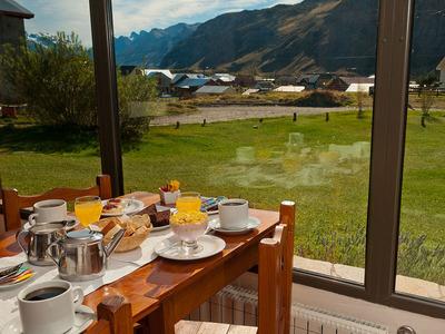 Posada El Barranco ontbijt Argentinie