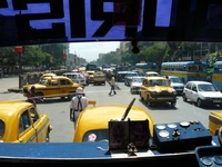 Straatleven Calcutta India Djoser