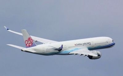 China Airlines vliegtuig