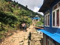 Nepal trekking dorp