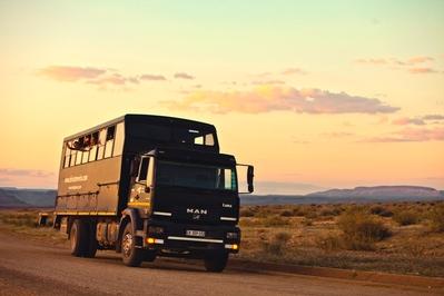 Zuid-Afrika truck