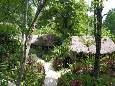 Hotel La Aldea de Halach huisjes Palenque Mexico