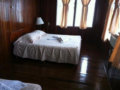 Hotel Catamaran kamer Rio Dulce Guatemala