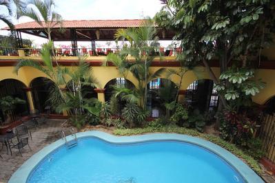 Hotel Oaxaca Real zwembad Mexico