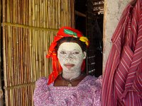 Magua meisje Mozambique