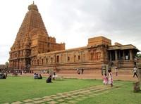 Brihadisvara temple Tanjore Zuid-India