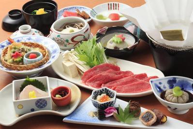 Eten Hoshokaku ryokan Takayama Japan