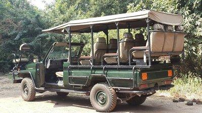 Gamedrive jeep Zuid-Afrika
