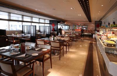 Ontbijt Ramada hotel Abu Dhabi