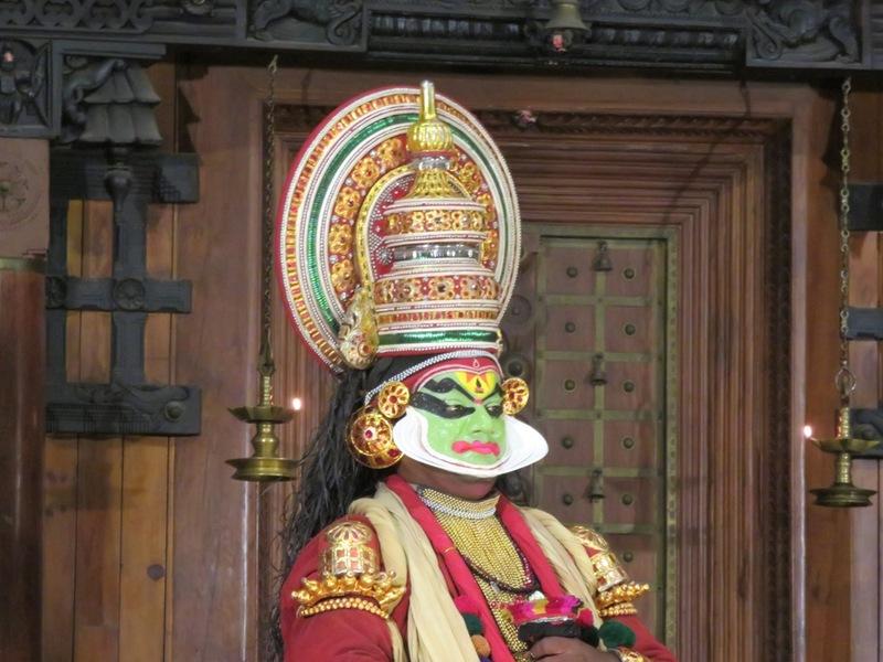 Geschminkte man Kathakalidans Cochin