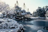Kenrokuen tuin Kanazawa Japan