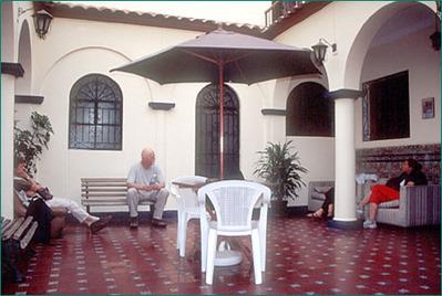 Peru Hostel Mami Panchita lobby Djoser