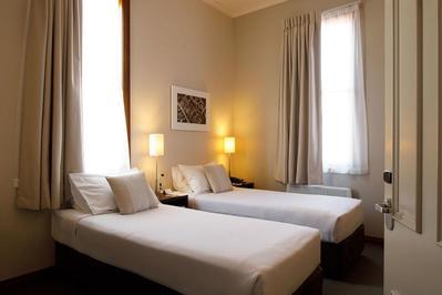 kamer in Hotel Accomodatie Nieuw Zeeland Overnachting Djoser