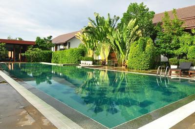 Sukothai Treasure zwembad Thailand