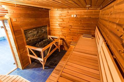 Hotel Khibiny sauna Kirovsk
