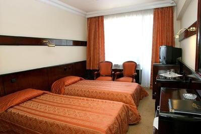 Hotel Otrar Almaty twin kamer Kazachstan