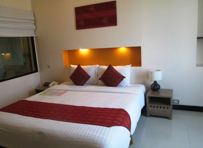 Maninarakorn Hotel kamer Chiang Mai Thailand