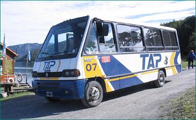 Argentinie bus vervoer Djoser