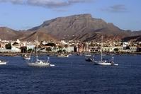 Mindelo haven Sao Vicente Kaapverdië