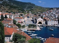 Dubrovnik haven Kroatie