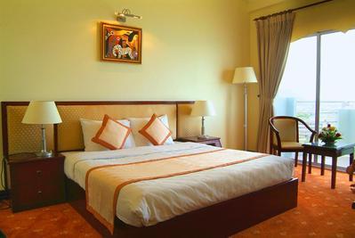 Hai Au Seagull hotel kamer Quinthon Vietnam
