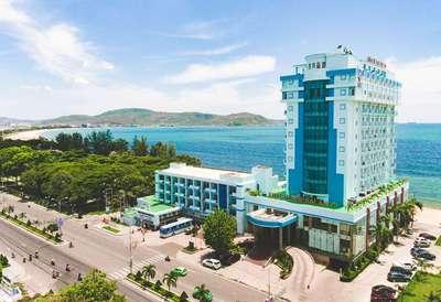 Hai Au Seagull hotel Quinthon Vietnam
