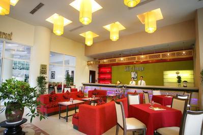 Parkview Hotel receptie Hue Vietnam