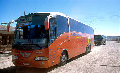 Bolivia busvevoer Djoser
