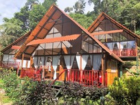 Hotel Yakuma lodge Equador Buitenaf