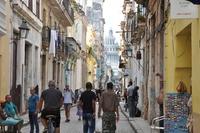 Straat Havana Cuba