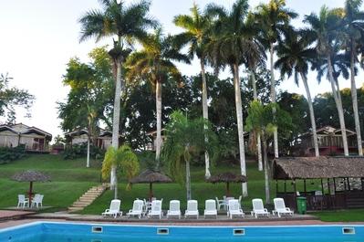 Aguas Claras zwembad palmbomen Pinar del Rio Aguas Claras Cuba
