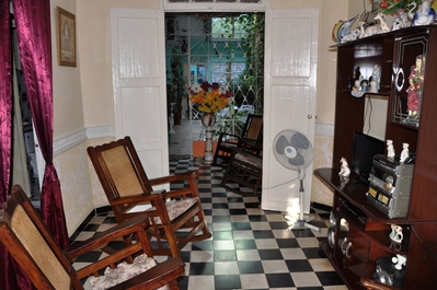 Trinidad, casa entree