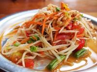 Thailand eten salade