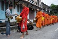 Monniken Luang Prabang Laos