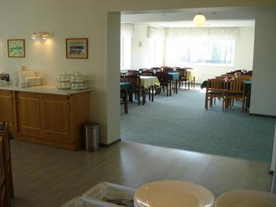 Hotel Staadioni ontbijt Saaremaa Estland