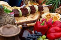 gerechten uit Georgië en Armenië