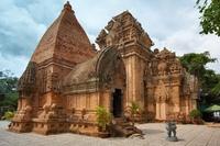 Po Nagar Cham torens Vietnam