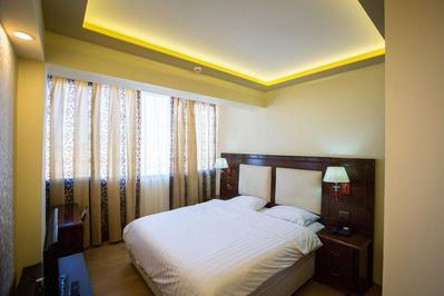 Grand Hotel kamer Korca Albanie