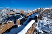 Chinese Muur winter China